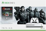 Rare - New Xbox One S Gears 5 1tb White Console Bundle - Free Expedited Shipping