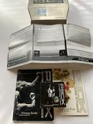 P90x Extreme Home Fitness Workouts 12 Dvd Set Fitness Guide Nutrition Plan Book
