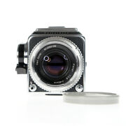 Hasselblad 500c Zeiss Planar C 80mm F/2.8 Lens Silver + A12 Film Back 94188