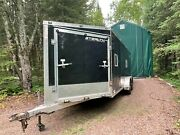 Stealth Apache Enclosed Trailer - Fully Insulated - Finished Interior - Lights