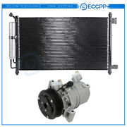 Ac Condenser And Compressor Cooling Kit For 09-10 Nissan Cube 07-12 Nissan Versa