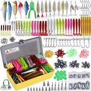 Fishing Lures Baits Tackle Including Crankbaits Spinnerbaits Plastic Worms Jigs