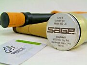 Sage GraphiteⅡ 890 Ds 8 9'0 Fly Rod Fishing W/soft Case And Aluminum Tube
