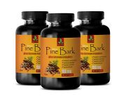 Heart Healthy Best Sellers - Pine Bark Extract - Antioxidant Natural 3 Bottle