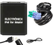 Adapter Aux For Iphone 5 6 7 8 Xr Ipod Ipad Lightning Cd Changer Becker Radios