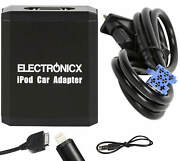 Adapter Aux For Iphone 5 6 7 8 Xr Ipod Ipad Lightning For Smart, Fiat, Lancia 8