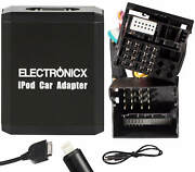 Adapter Aux For Iphone 5 6 7 8 Xr Ipod Ipad Lightning For Ford 12+40 Pin