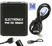 Adapter Aux For Iphone 5 6 7 8 Xr Ipod Ipad Lightning Cd Changer Fiat, Lancia