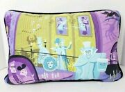 New Disney Parks 50th Haunted Mansion Shag Throw Pillow
