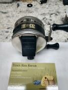 Vintage Zebco Model 33 Rhino Tough Reel Combo. 311. Reel Made In The Usa