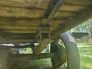 Model A Ford Axle Leaf Springs Tires Rims Not Sure On Yr
