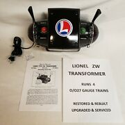 Lionel Zw Transformer - 275 Watt - Completely Restored And Updated And Serviced