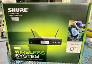Shure Blx14r-h10 Combo Wireless Guitar System With Lapel Mic 542-572. New