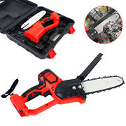 8 18v Mini Electric Cordless Chainsaw Battery Powered Chain Saw Pruning Shears