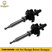 2pcs Air Shock Absorber Rear L+r Magnetic Damping For Range Rover Evoque 11-18