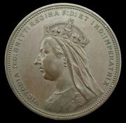 1887 Victoria Golden Jubilee 64mm Bronze Medal - By Wyon