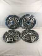 Vintage 1967-1972 Ford Pickup Truck Mag Style Wheel Covers Hubcaps
