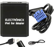 Adapter Aux Fr Iphone 5 6 7 8 Xr Ipod Ipad Lightning For Honda Acura Up To 2006