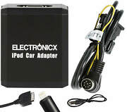 Adapter Aux For Iphone 5 6 7 8 Xr Ipod Ipad Lightning For Volvo Hu Radios