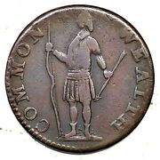 1788 1-a R-4+ Massachusetts Half Penny Colonial Copper Coin 1/2p