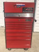 Vintage Snap On Tool Box Kr-531a And Kr-558b Top And Bottom 1971 And '76 💥 Nice No Ky
