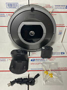 Irobot Roomba 780 Robotic Pet Vacuum W/ New Battery And Brushes / Wall - Warranty
