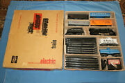 Marx Sears Allstate 9624 Freight Train Set W/490 Steam Loco And Tender. Roadbed
