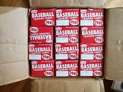 1981 Fleer Vending Case 24 Boxes 9000+ Cards Stripped / Searched Great 4 Ttm