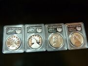 2017 American Liberty Silver Medals Pr69dcam Sp69 Pr69 Reverse And Ms69 F/s Signed