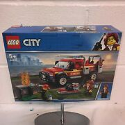 Lego City 60231 Fire Chief Response Truck New Sealed And Ready To Ship