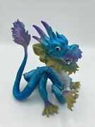 Chinese Crested Dragon Action Figure Fantasy World Toy Plastic Figurine Blue