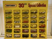 Matchbox Complete Set Of 30 Samandrsquos Club Models Sealed In Blisterpacks Issued 1992