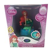Disney Princess Light And Sound Musical Bank Ariel The Little Mermaid Discontinued