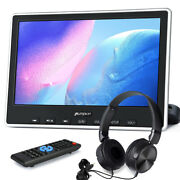 10.1 Slot-in Dvd Car Pillow Monitor Portable Dvd Player Tv Hdmi Usb Sd+headsets
