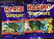 Haribo Dinosaurs Gummi Candies {lot Of 2 Bags} Gummy Candy