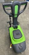 Ip Ct15b35 Auto Scrubber By Gansow W/ 2 New 14andrdquo Brushes And New Bumper