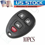 10x New Keyless Entry 4-btn Remote Car Key Fob Case Shell For Select Gm Ouc60270