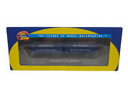 Athearn Ready To Roll Ho 92369 Nickel Plate Road Flat With Two Trailers Nkp1917
