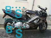 Black Injection Fairing With Tank Cover Fit Honda Cbr600f3 1997-1998 48 A6