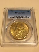 1902 20 Pcgs Au58 Liberty Double Eagle Gold Coin Great Appeal Rare P-mint
