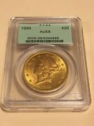 1888 Au58 Pcgs Liberty Double Eagle 20 Gold Coin Ogh Great Appeal Pq
