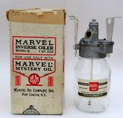 Nos Vintage Marvel Mystery Inverse Oiler Model Q In Box Judson Super Charger