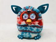 2012 Furby Boom Red White Blue Christmas Sweater Fur Tested And Works Htf