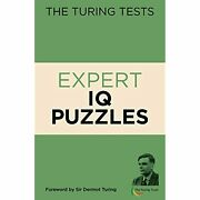 H6247 Expert Iq Puzzles The Turing Tests  Paperbound