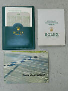 Rolex Oyster Cosmograph Full Set Year 1972 Ref 6263 6265 Blank Paper Warranty