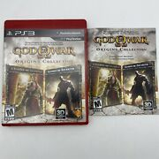 God Of War Origins Collection Ps3 - Complete - Single Owner - Clean Nice