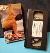 Gilad Quick Fit System Chest And Back Upper-body Workout Vhs- Vintage