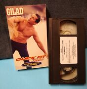 Gilad Quick Fit System Shoulders And Arms Upper-body Workout Vhs- Vintage