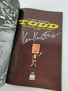 Todd The Ugliest Kid On Earth 1 - 1st Printing - Signed By Ken Kristensen