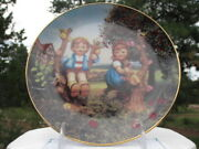 Hummel Collector Plate Apple Tree Boy And Girl W/coa Md3529